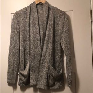 Calvin Klein Draped Cardigan with Pockets